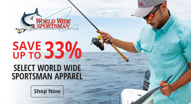 8bdc8d48 Save up to 33% on select World Wide Sportsman - Shop Now