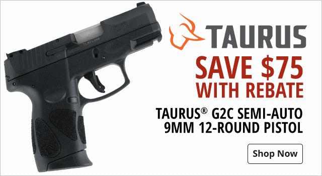 Taurus Save with Rebate - Shop Now