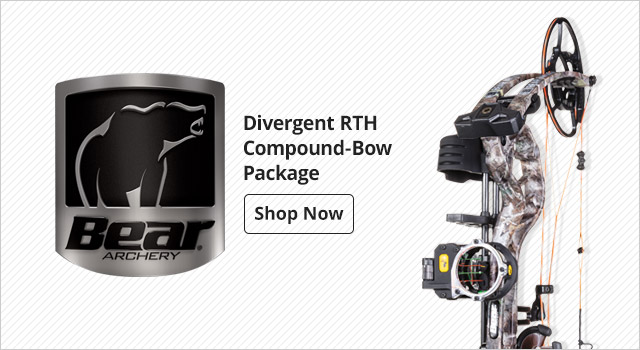 Bear® Archery Divergent RTH Compound-Bow Package - Shop Now