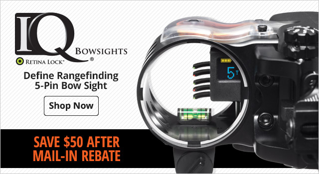 IQ Bowsights Define Rangefinding 5-Pin Bow Sight - Shop Now