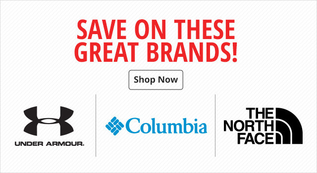 Save on these Great Brands!