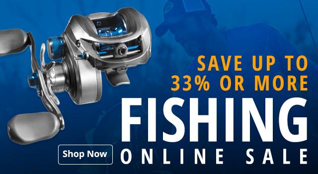 Fishing Online Sale - Save 33% or more