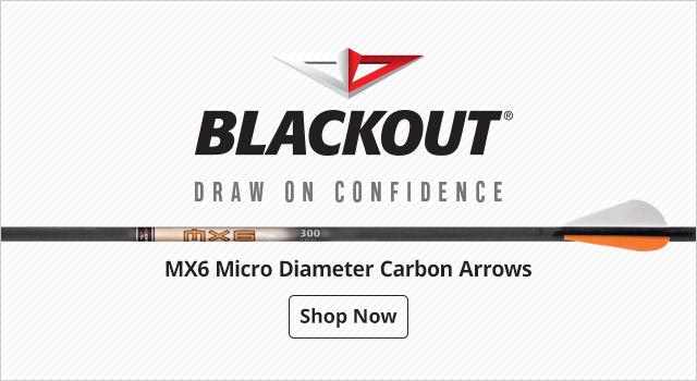 BlackOut MX6 Micro Diameter Carbon Arrows - Shop Now