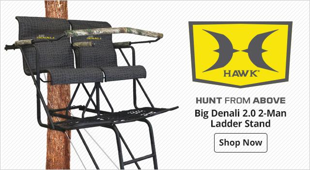 Hawk Big Denali 2.0 2-Man Ladder Stand - Shop Now