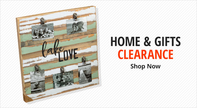 Home & Gifts Clearance - shop now
