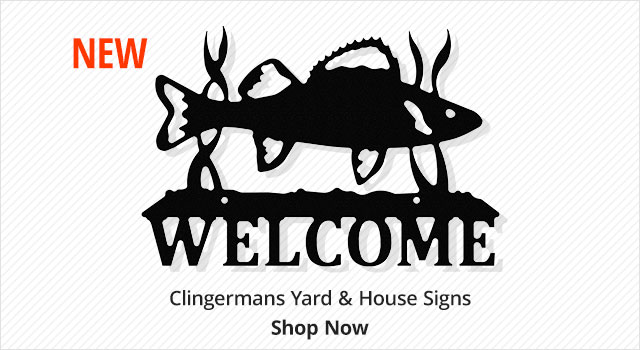 New Clingermans yard & house signs - shop now