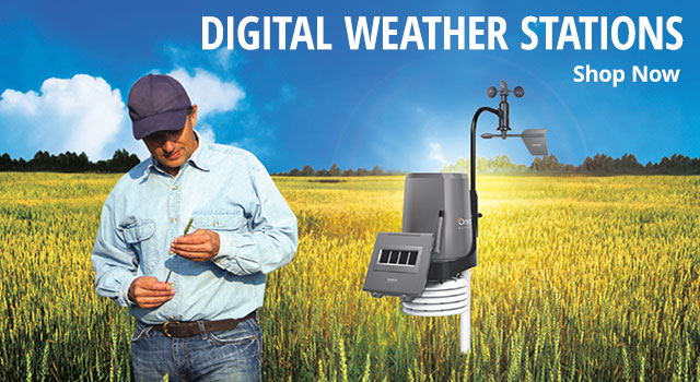 Digital weather stations - shop now