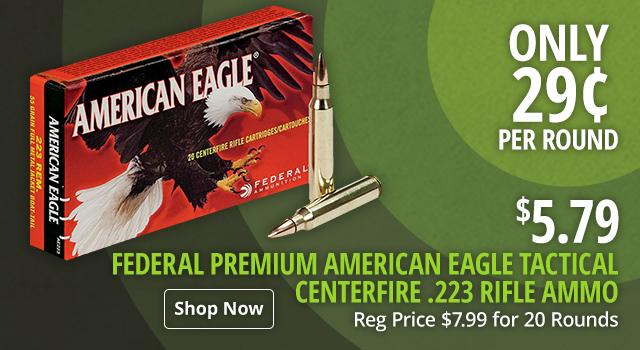 Federal Premium American Eagle Tactical Centerfire Rifle Ammo - Shop Now