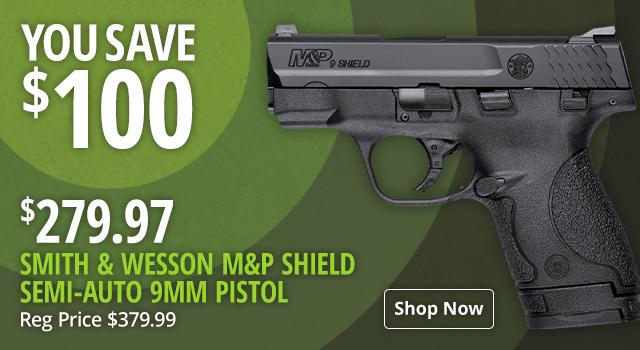 Smith & Wesson M&P Shield Semi-Auto Pistol - Shop Now