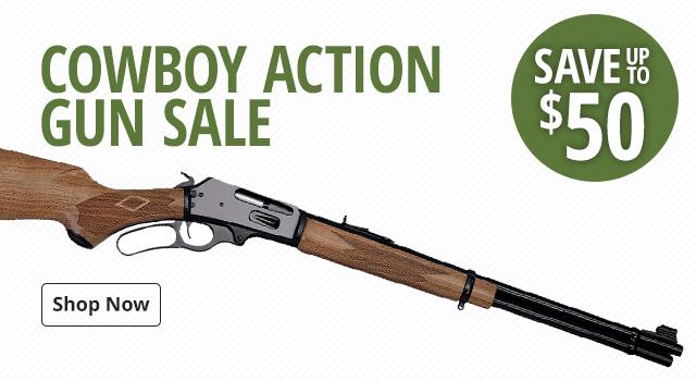 Cowboy Action Gun Sale - Save Up To $50