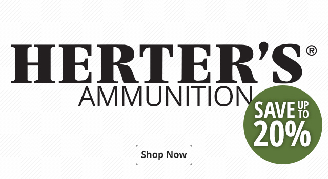 Herter's Ammo - Save Up To 20%