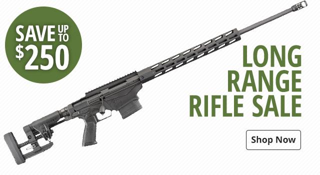 Long-Range Rifle Sale - Save $250