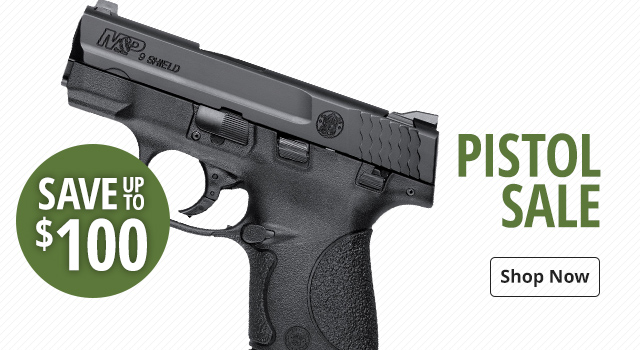 Pistol Sale - Save Up To $400