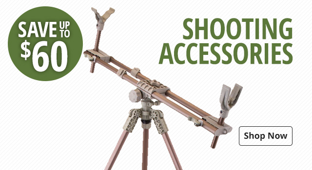 Shooting Accessories - Save Up To $60