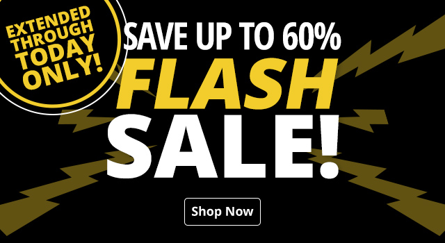 Flash Sale - Save up to 60%