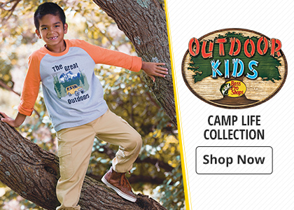 Bass Pro Shops Outdoor Kids Camp Life Collection