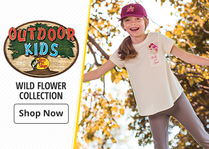 Bass Pro Shops Outdoor Kids Wild Flower Collection
