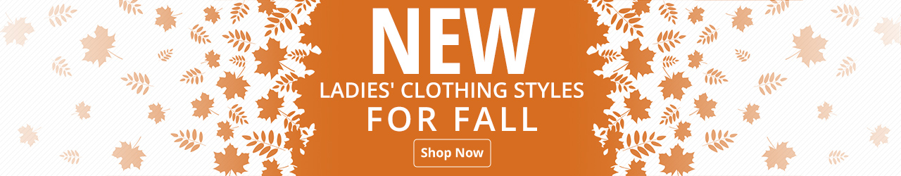 New Ladies' Clothing For Fall