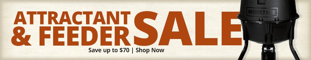Attractant & Feeder Sale - Shop Now