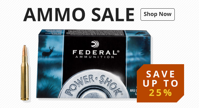 Ammo Sale - Save up to 25%