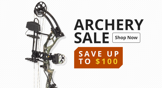 Archery Sale - Save up to $100