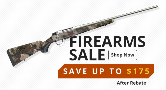 Firearms Sale - Save up to $175