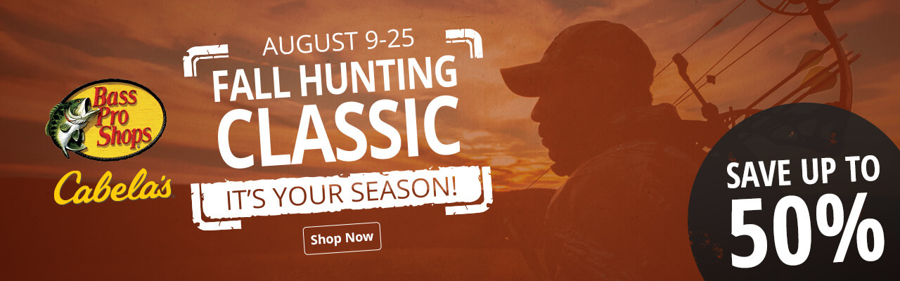 Fall Hunting Classic - Save up to 50%