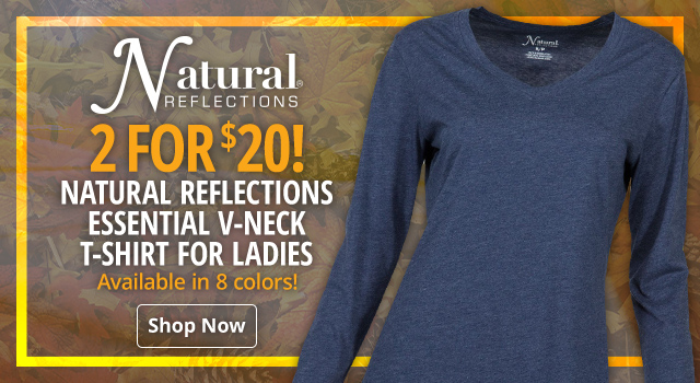 Natural-Reflections-Essential-V-Neck-T-Shirt-for-Ladies