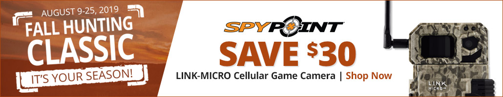 SPYPOINT LINK-MICRO Cellular Game Camera - Shop Now