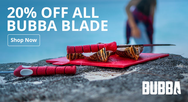 20% Off All Bubba Blade