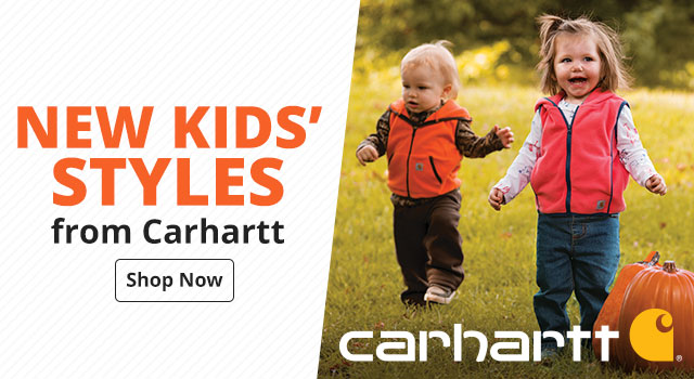 New Kid's Styles from Carhartt