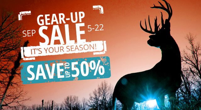 Gear Up Sale - Save up to 50%