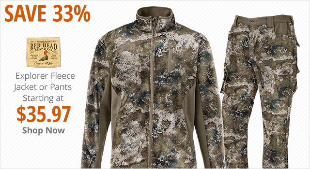 Save 33% on RedHead Explorer Jacket or Pants - Shop Now