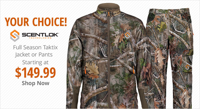 Scentlok Taktix Jacket or Pants Your Choice $149.99 - Shop Now