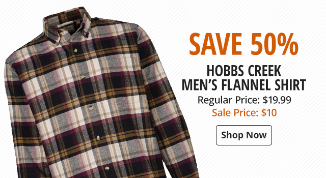 Hobbs Creek Flannel Shirt for Men