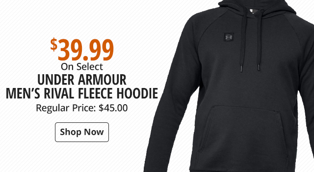 Under Armour Rival Fleece Hoodie for Men