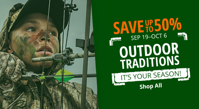 Outdoor Traditions Sale - Save up to 50%