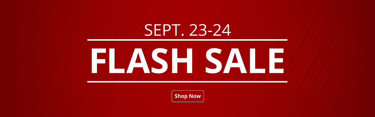Flash Sale - 2 Days Only