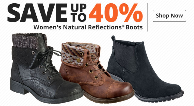 Save up to 40% on Women's Natural Reflections® Boots