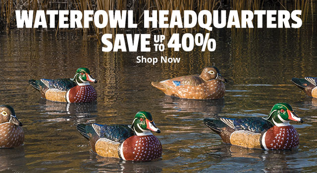 Waterfowl Headquarters Save up to 40% - Shop Now
