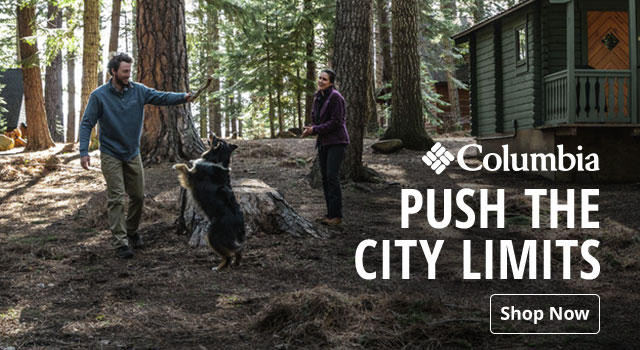 Columbia, Push the City Limits - Shop Now