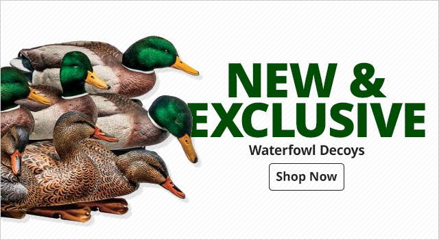 NEW and Exclusive Waterfowl Decoys - Shop Now