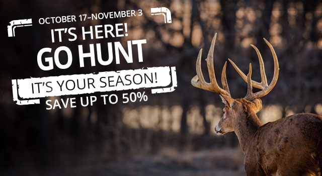 It's Here Go Hunt - Save up to 50%