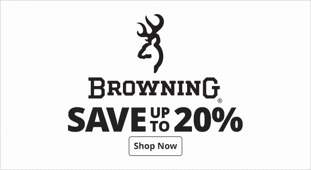 Save up to 20% on Browning