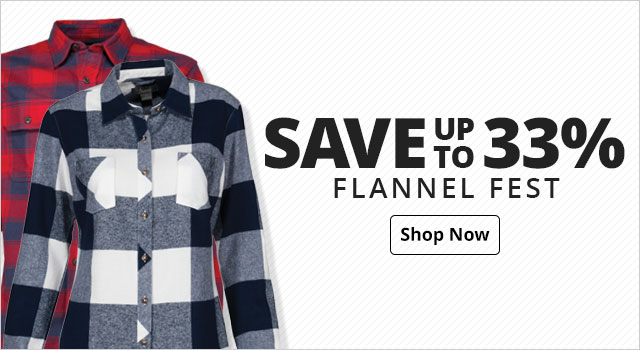 Save up to 33% on Flannel Fest