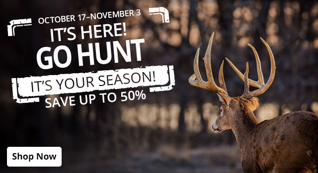 It's Here! Go Hunt - Save up to 50%