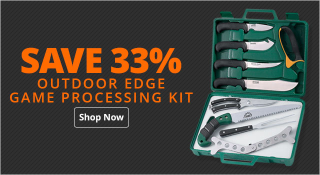 Outdoor Edge Game Processing Kit