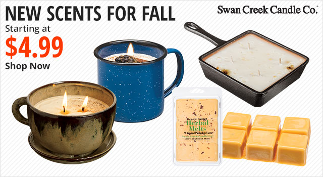 New Scents for Fall, Swan Creek Candle Company - Shop Now