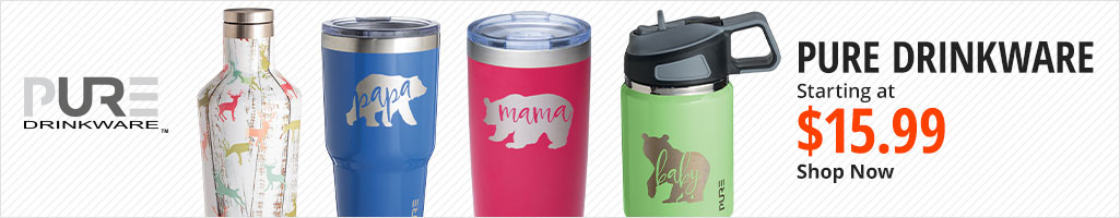 Pure Drinkware Starting at $15.99 - Shop Now
