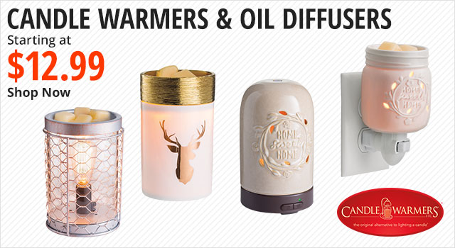 Candle Warmers & Oil Diffusers - Shop Now